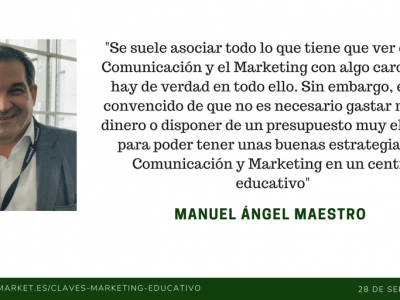 Marketing educativo low-cost, el marketing no tiene porque ser caro
